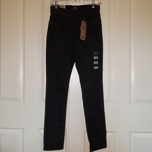 Nwt Womens Levis High Rise Pull On Skinny Jeans 4